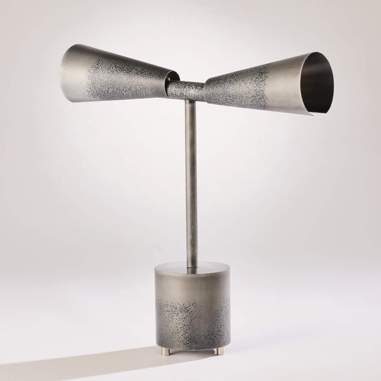 7.90999 Ombre Trumpet Desk Lamp-Graphite_Pewter