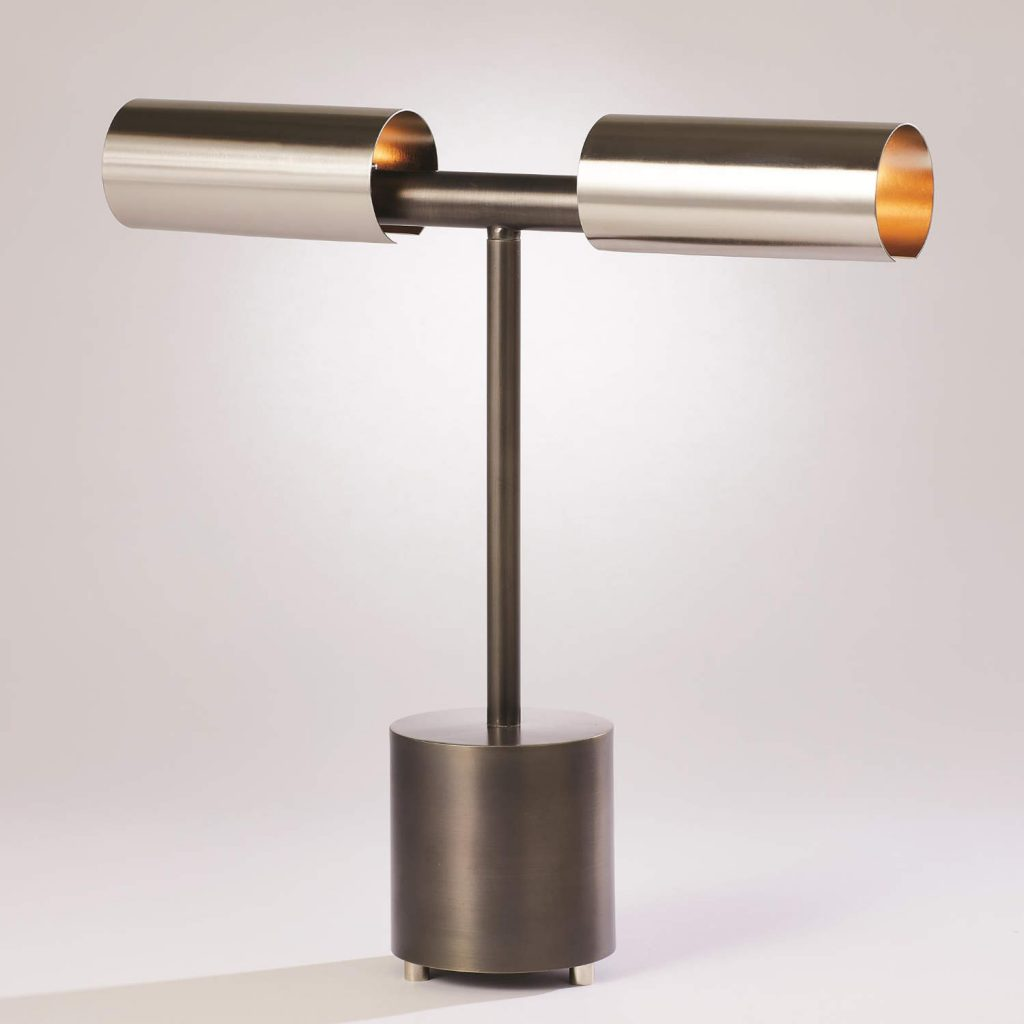 7.91007 Dumbbell Desk Lamp-Zinc_Nickel