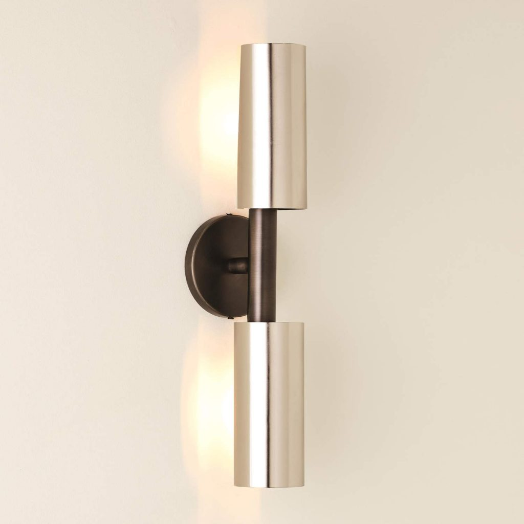 7.91008-HW Dumbbell Sconce-Zinc_Nickel-HW