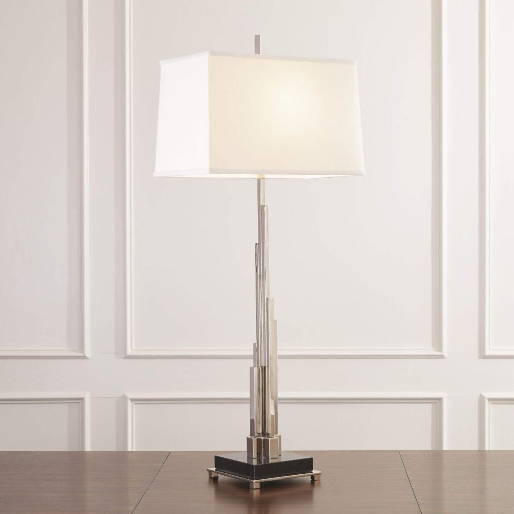 9.93186 Metropolis Lamp-Nickel